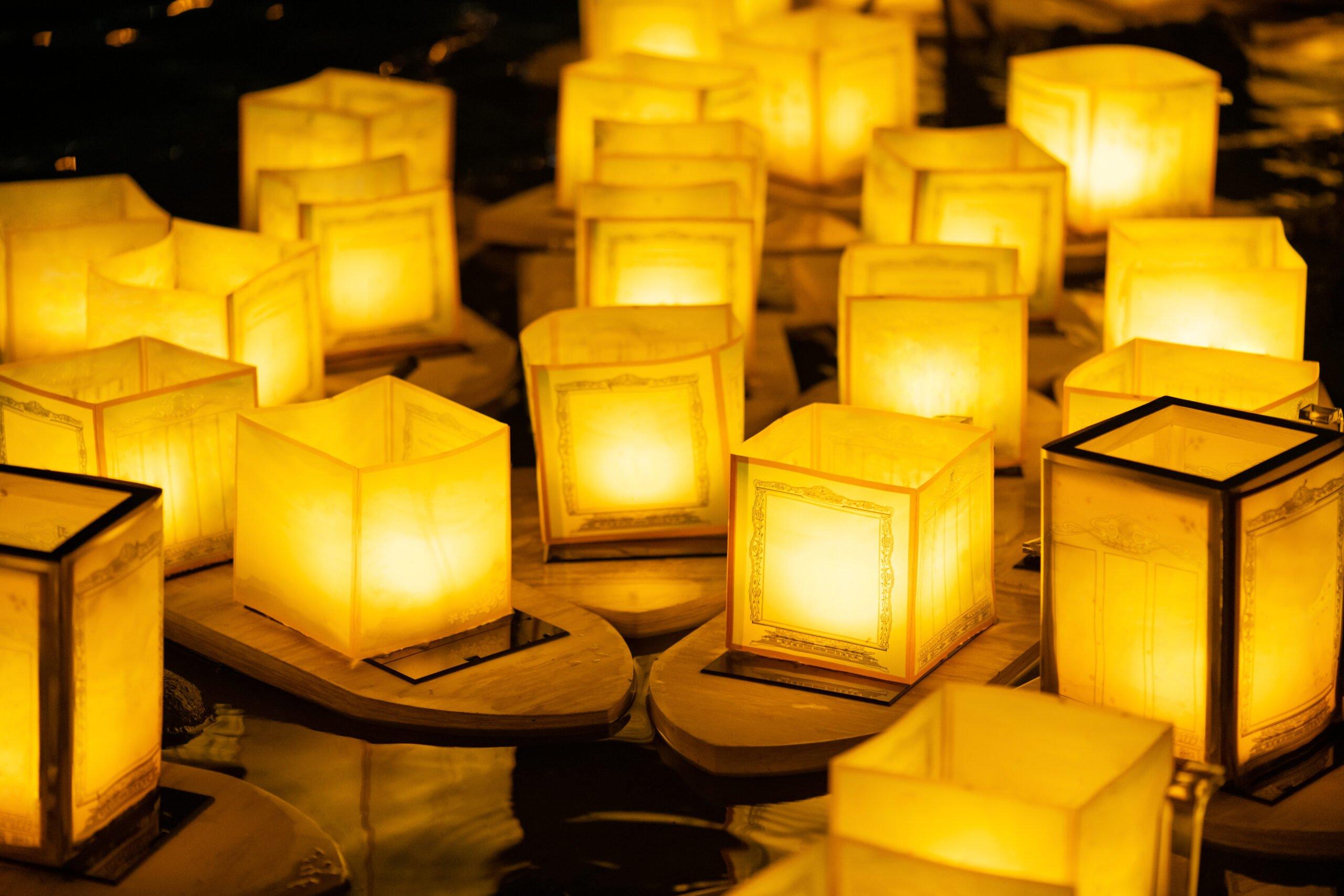 Japanese Floating Lantern Festival