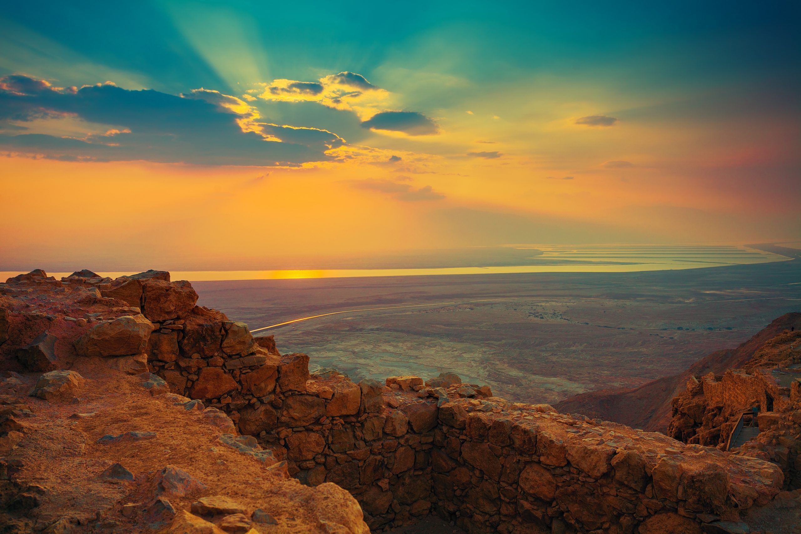 Masada Sunrise, Ein Gedi, And Dead Sea Tour