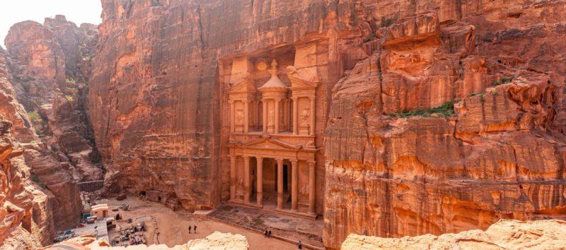 Petra Treasury On 1 Day Tour From Jerusalem And Tel Aviv