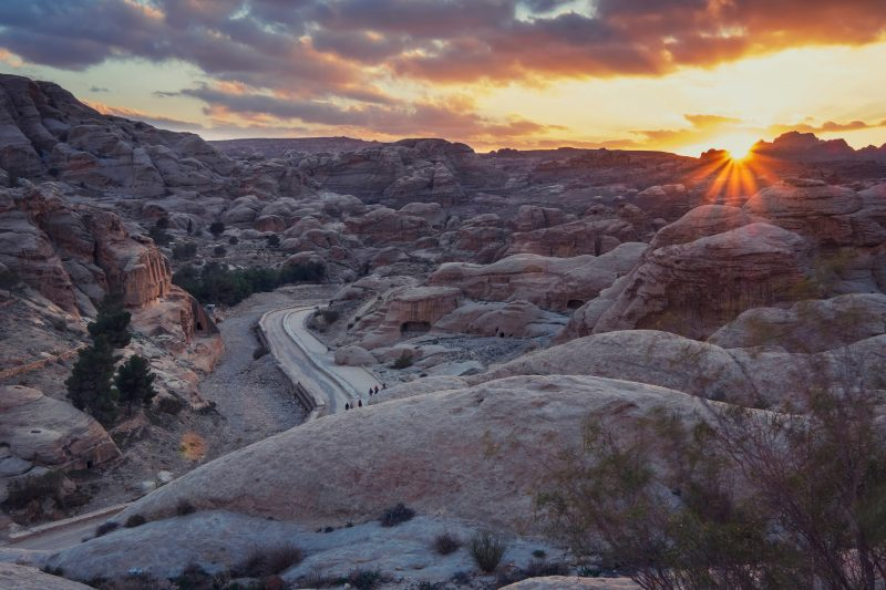 Sunset On Petra Tour From Tel Aviv And Jerusalem