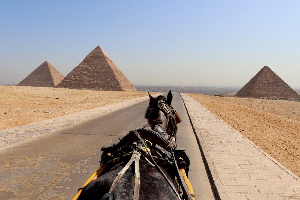best travel experience egypt pyramids horseback