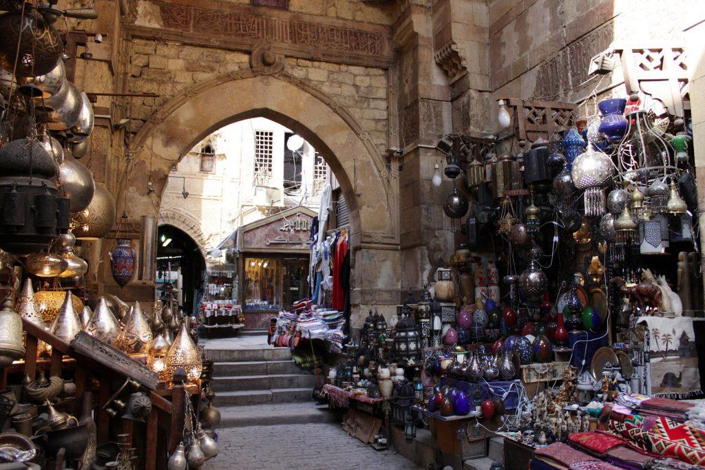khan el khalili market cairo
