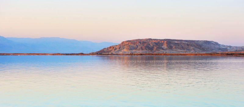 Dead Sea As Seen On Masada, Ein Gedi, Dead Sea Tour