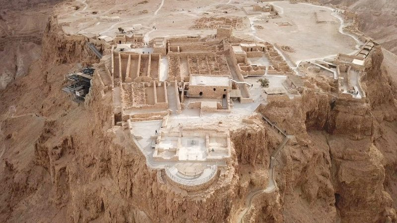 The Ruins Of Masada On Tour With Ein Gedi And Dead Sea