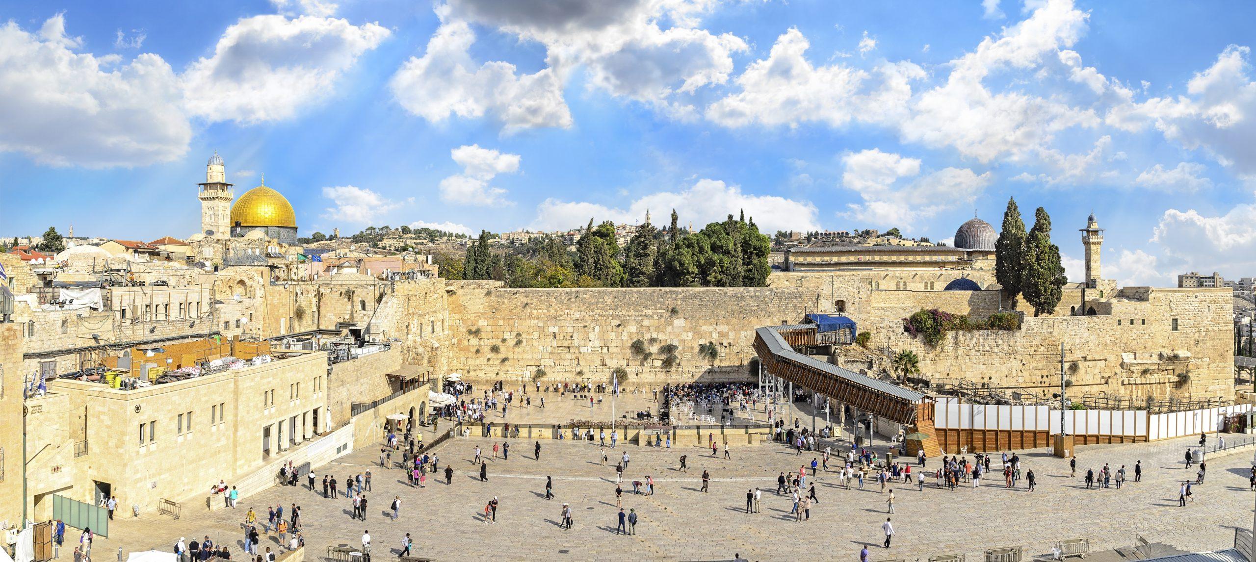 Western Wall On Jerusalem, Dead Sea, Bethlehem Tour