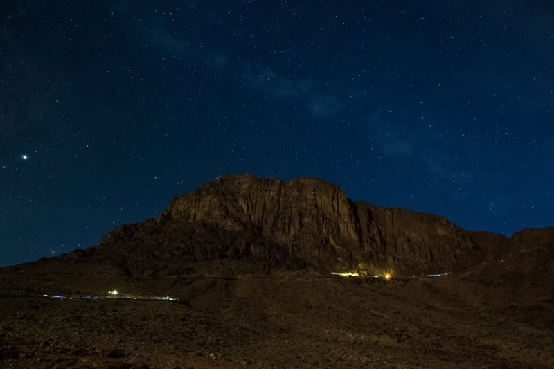 Sinai Desert Stargazing & Camel Ride Tour
