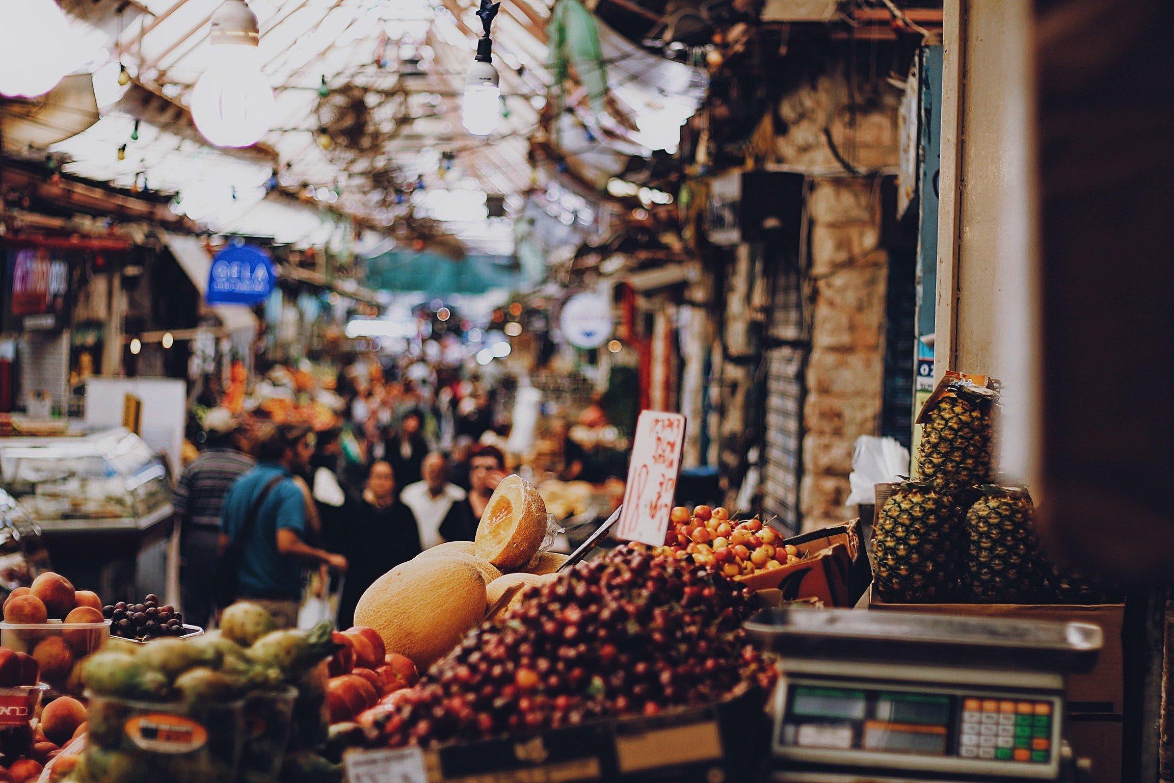 Machaneh Yehuda Market And Cooking Workshop