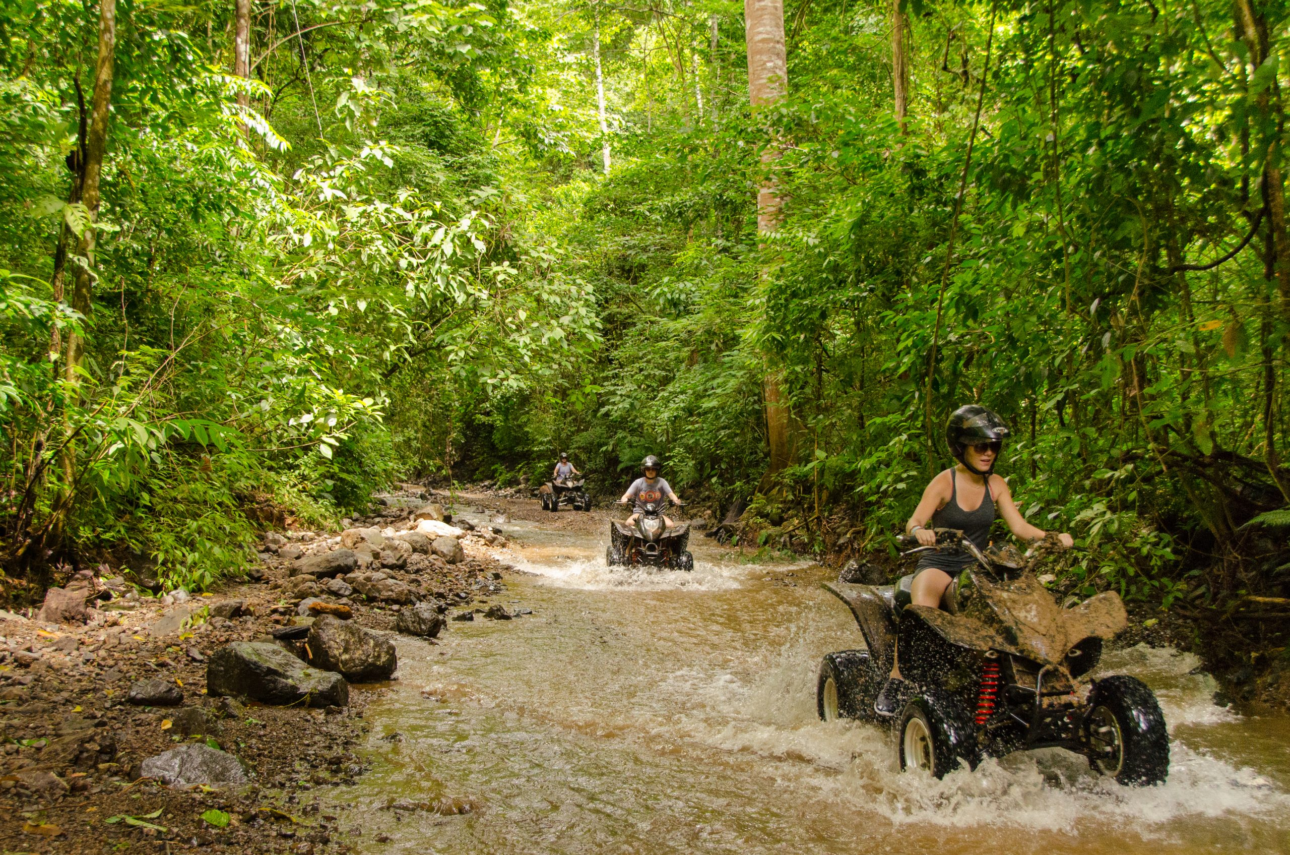 Atv Fun At The Zipline, Atv, And Waterfalls Experience From Vista Los Suenos Aventure Park_36