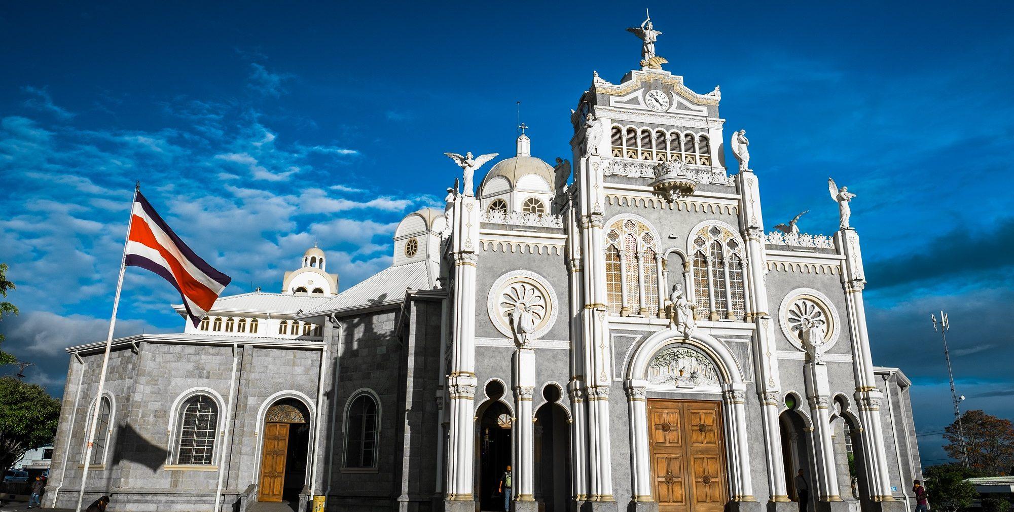 Basilica Of The Virgen De Los Ángeles_cartago