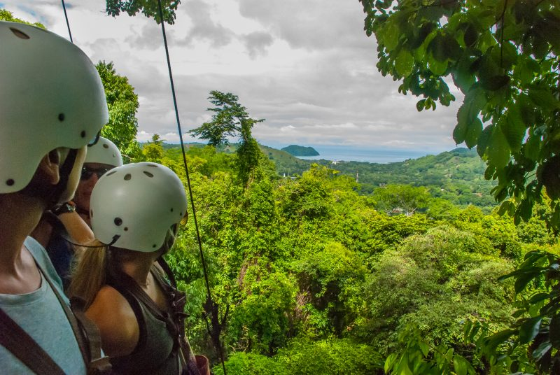 Canopy View During The 1 Day Adventure At Vista Los Suenos
