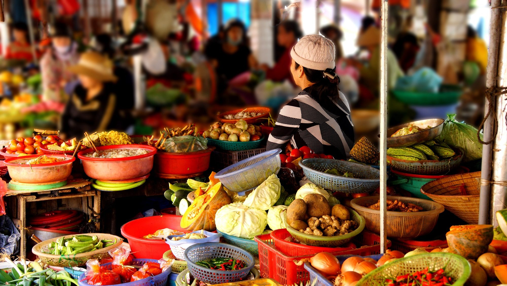 Central Market Of Hoi An During The Food Tour Experience