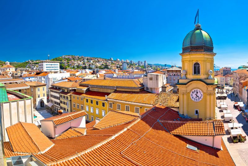 Visit The Famous Clock Tower On Your Rijeka City Tour