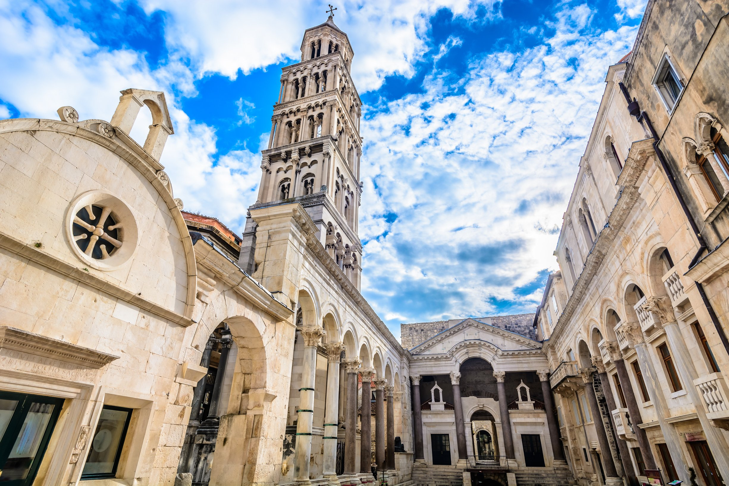 Enjoy A Visit Of The Diocletian's Palace During Your Split Walking Tour
