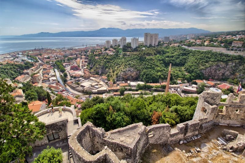 Enjoy The View Of Rijeka From Trsat Castle During Your Rijeka City Tour