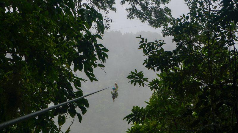 Extreme Activities In Costa Rica - Ziplining