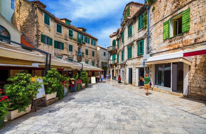 Old City Views During The Split Walking Tour