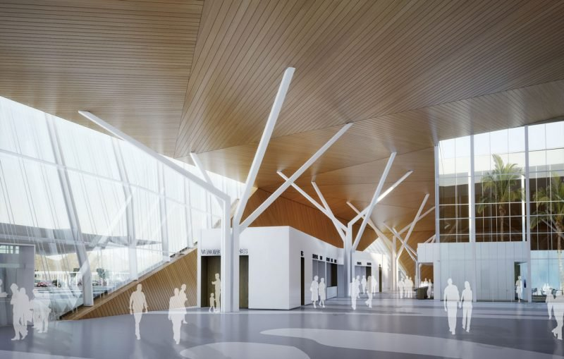 Ramon Airport passenger hall