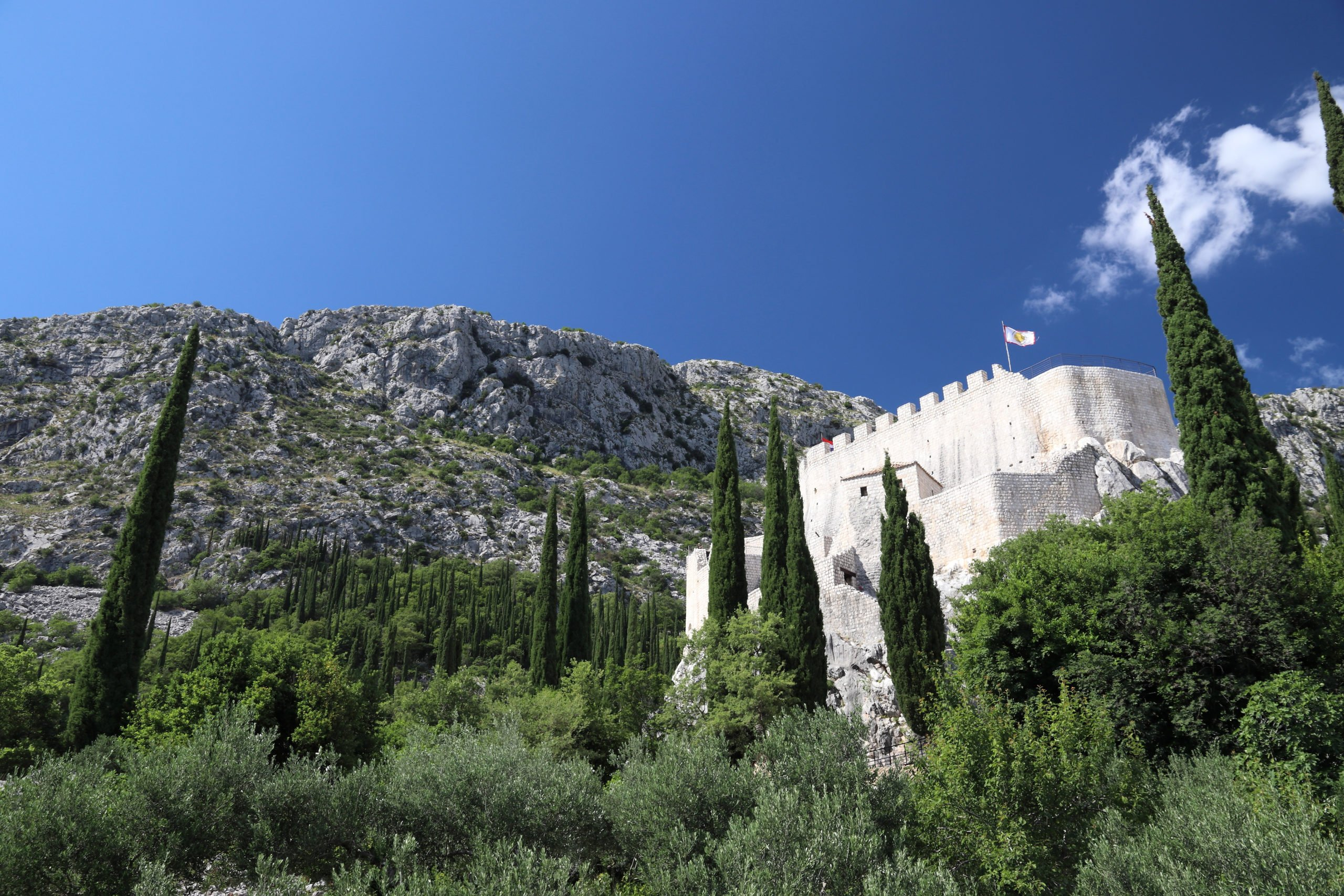 Stop At The Famous Sokol Tower On The Cooking Class In Konavle From Dubrovnik