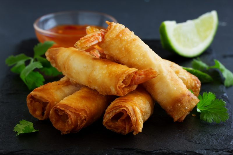 Taste Vietnamese Spring Rolls During The Market And Cooking Experience In Da Nang