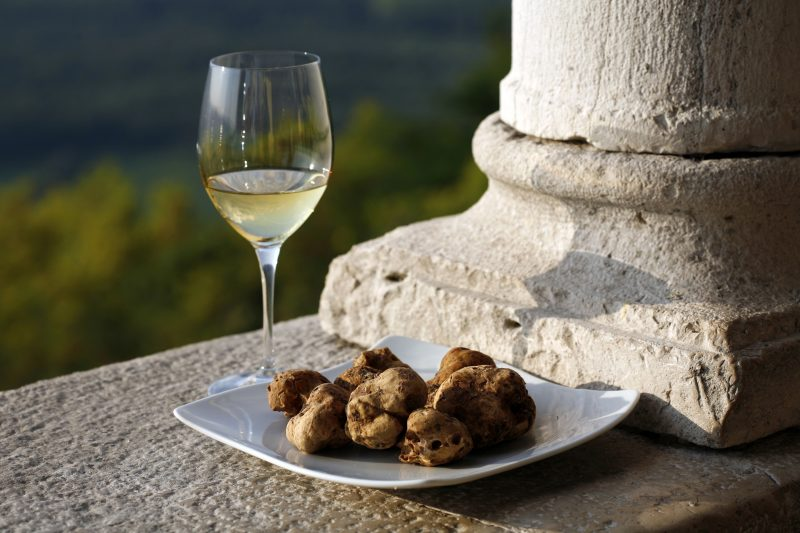 Truffle And Wine