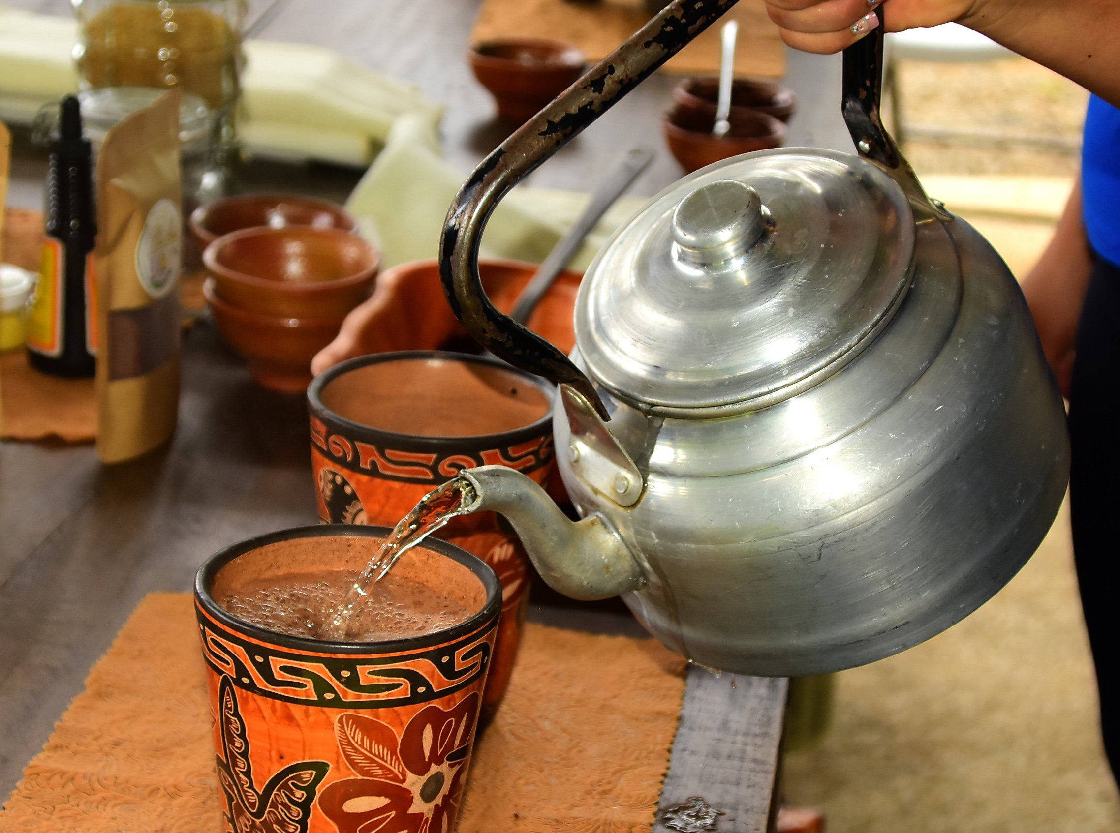 Try Some Hot Chocolate At Your Full Day Adventure Tour At Vista Los Suneos_36