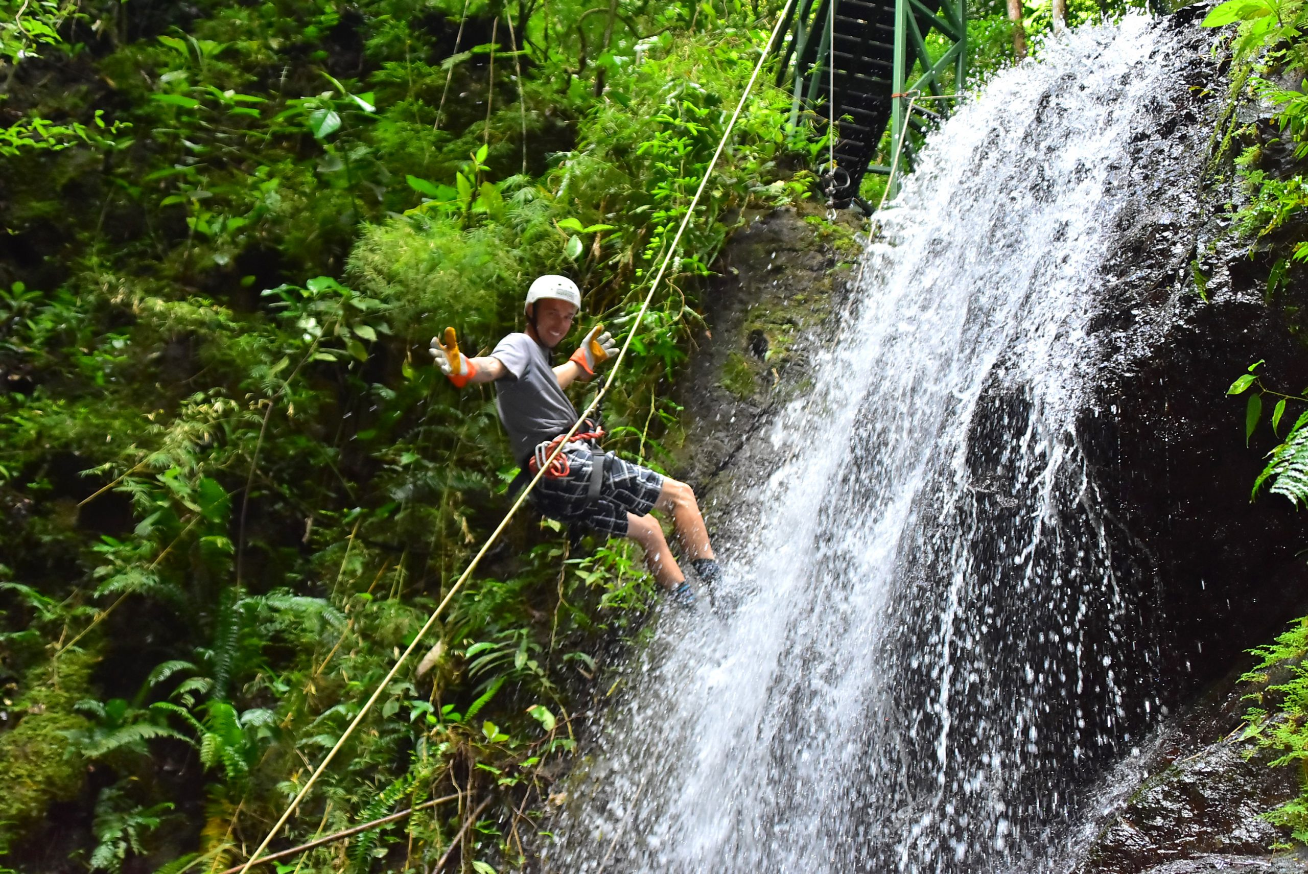 Waterfall Abseiling At Vista Los Suenos_36
