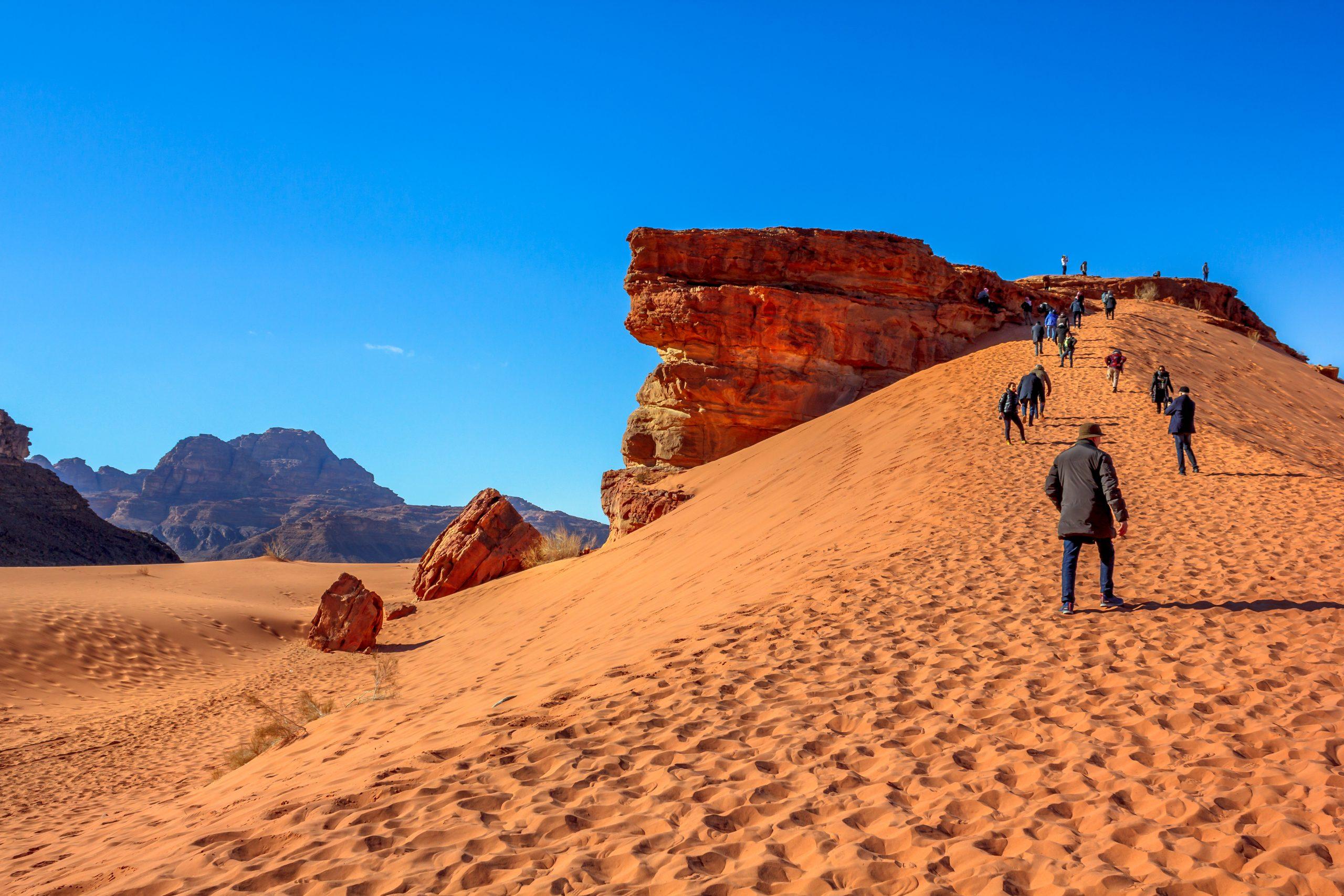 Jerusalem To Wadi Rum