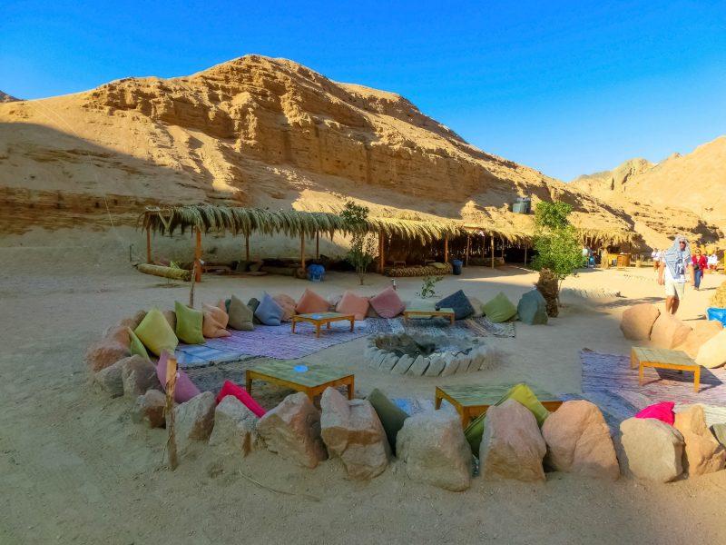 Camel Tour Camping Sinai