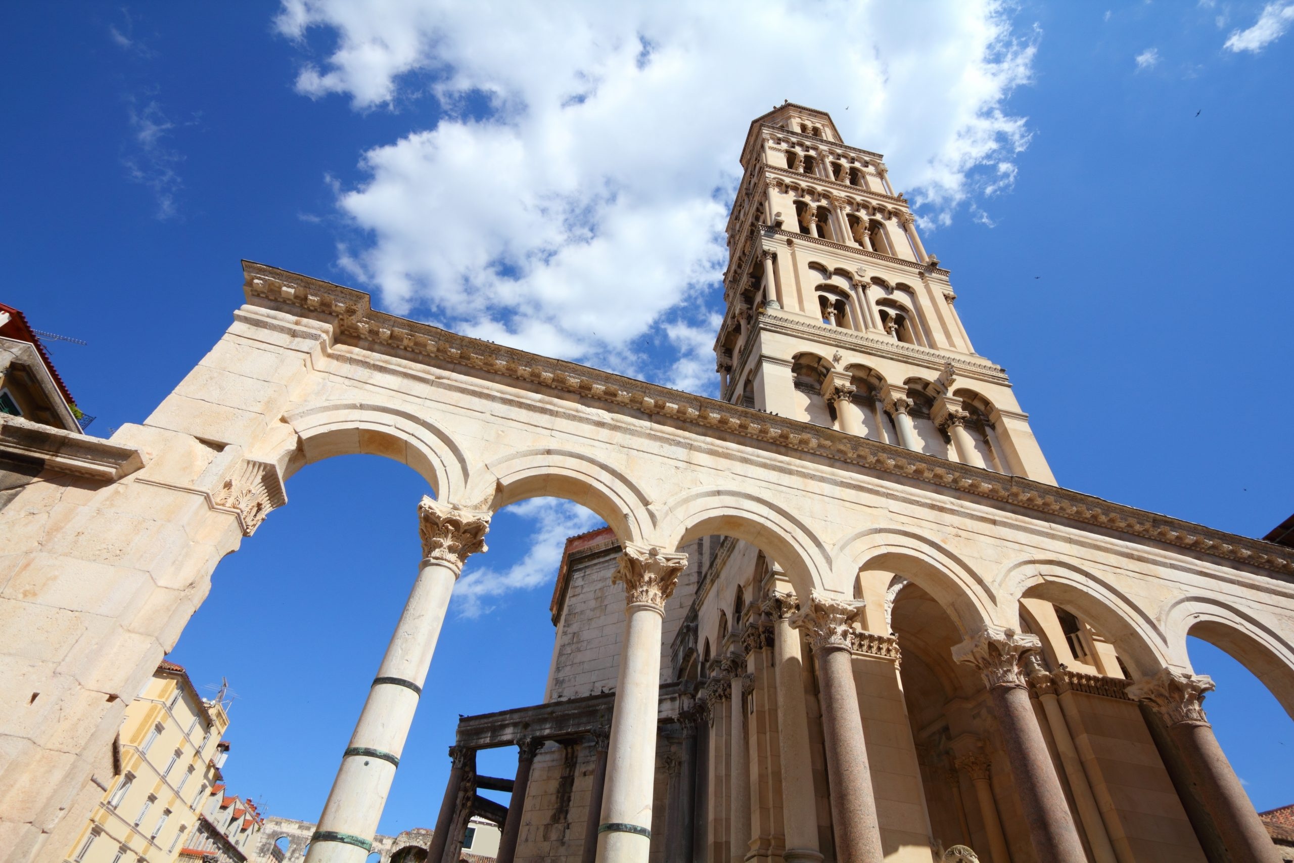 Visit The Famous Diocletian's Palace During Your Game Of Thrones Tour In Split