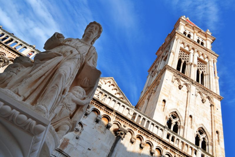 Visit The Famous Cathedral Of St. Lawrence On Your Klis Fortress And Trogir Day Tour From Split