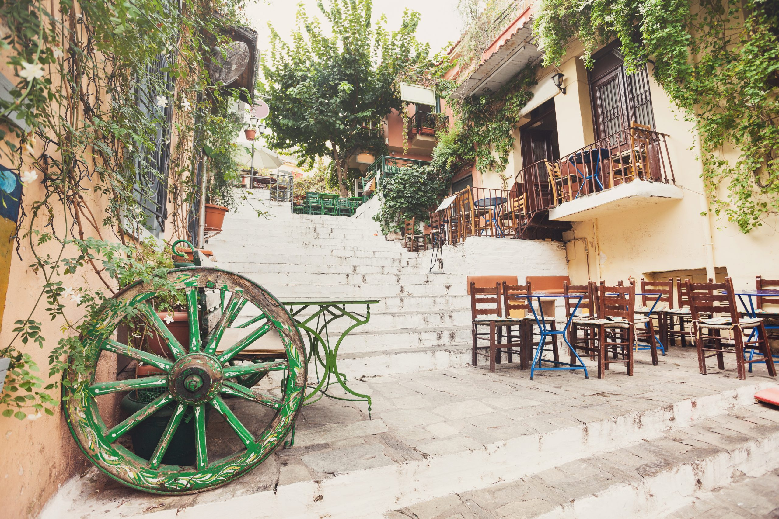 Discover Hidden Alleys On The Insider Athens City Tour