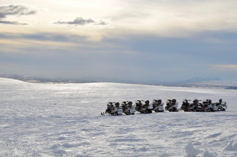Discover The Beauty Of Iceland On A Snowmobile During The Golden Circle Super Truck And Snowmobile Experience