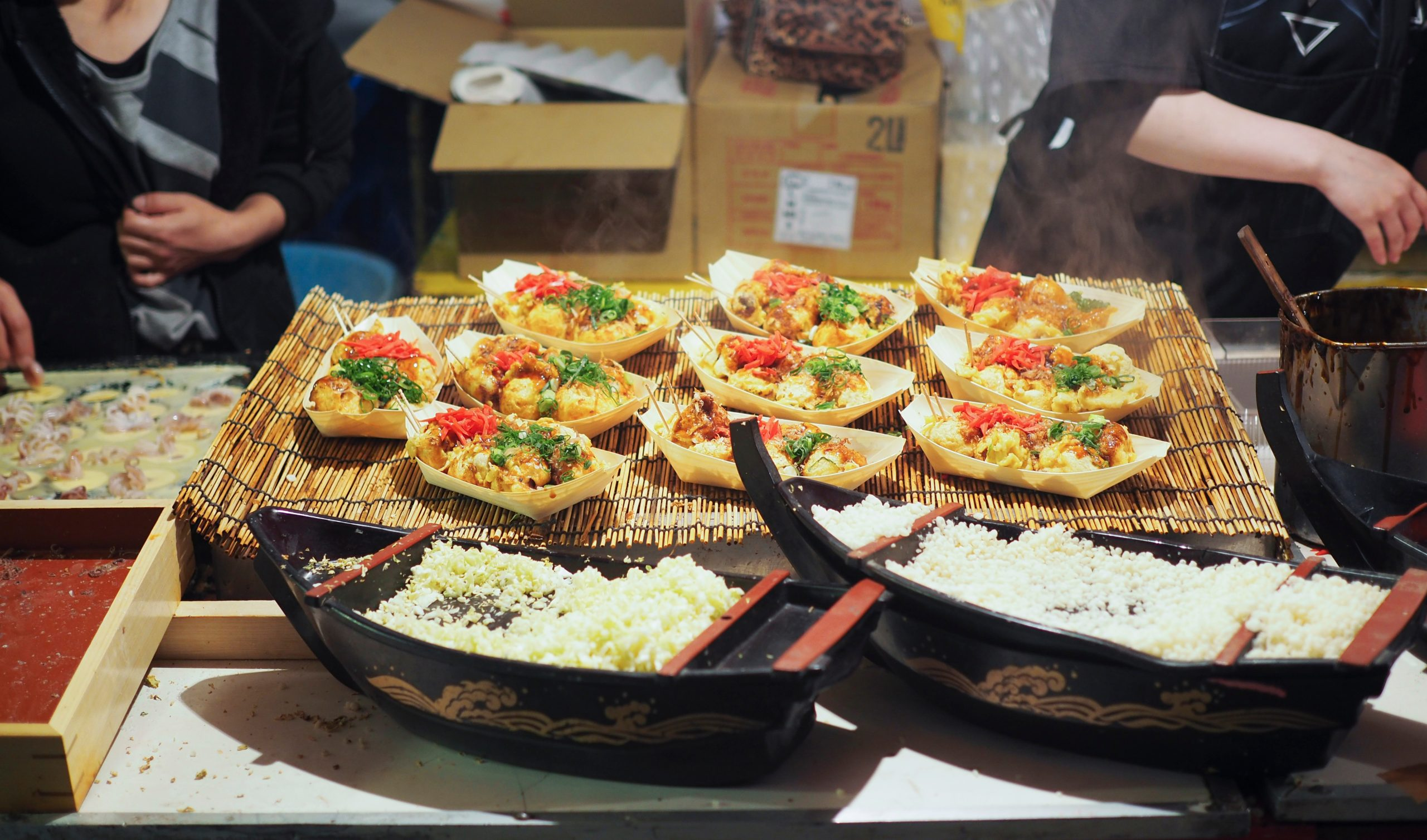 Discover The Famous Street Food Of Osaka During The Osaka Market And Cooking Tour