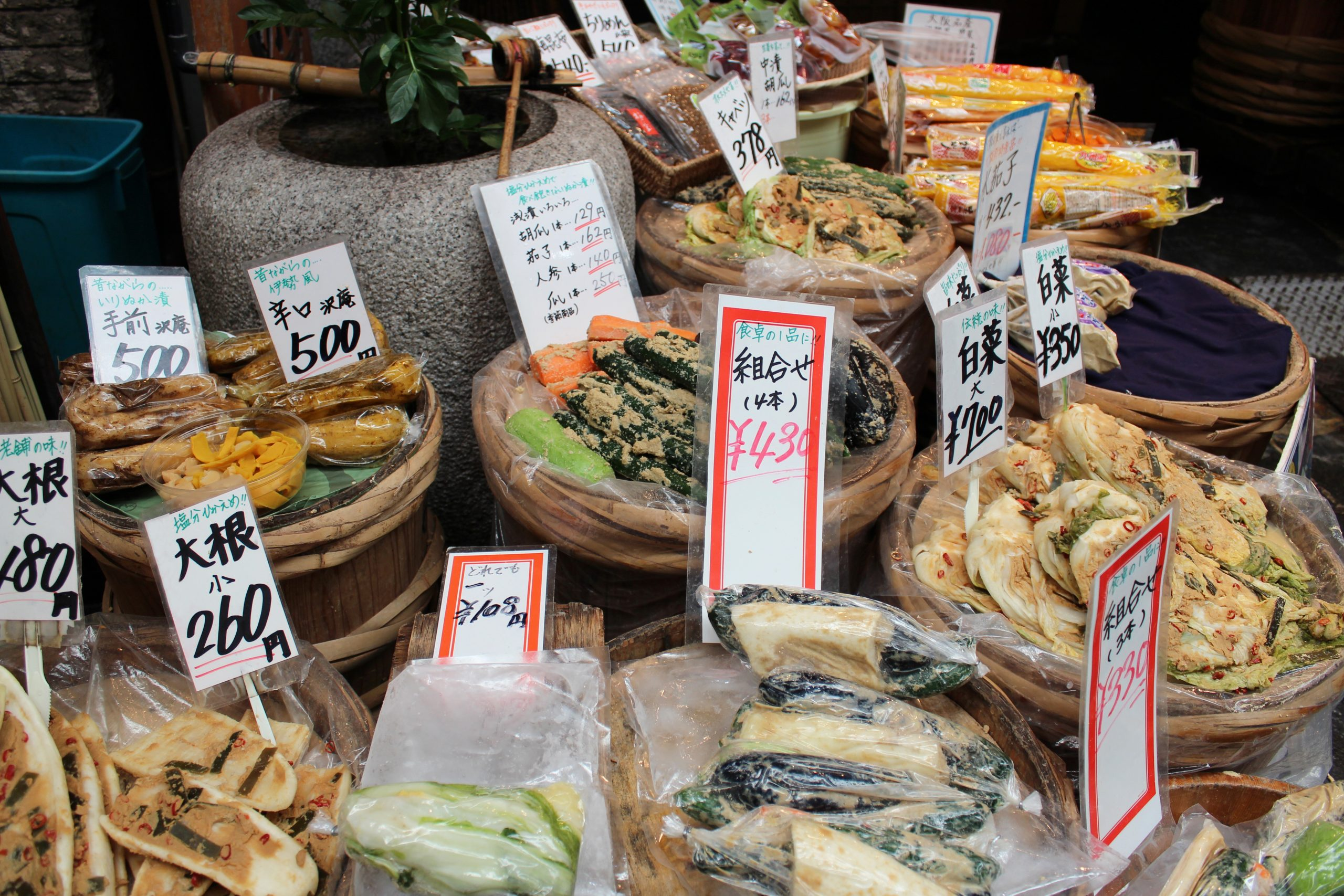 Discover The Stands Of Kuromon Market On Your Osaka Market Tour And Cooking Class