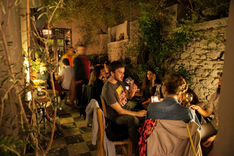 Enjoy A Drink In The Garden Bars On The Athens Nightlife Tour_41