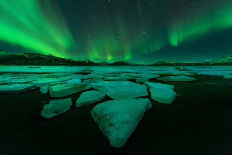 Enjoy The Northern Lights On The Northern Lights Small Group Tour