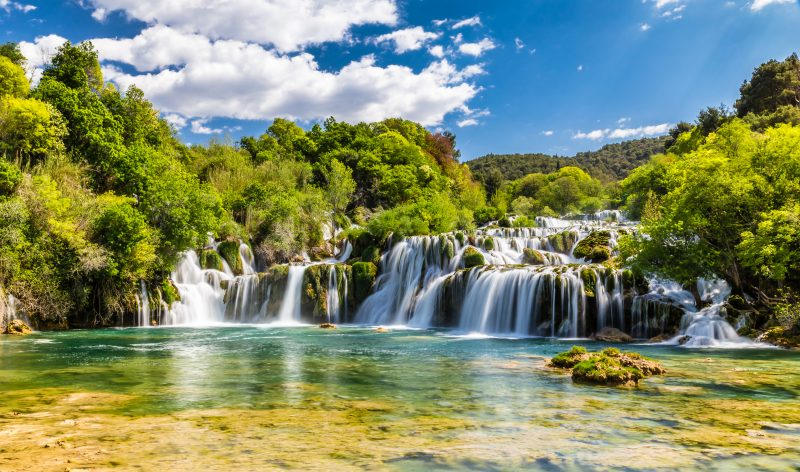 Experience The Stunning Nature Of Krka National Park During The Krka National Park And Sibenik Day Tour From Split