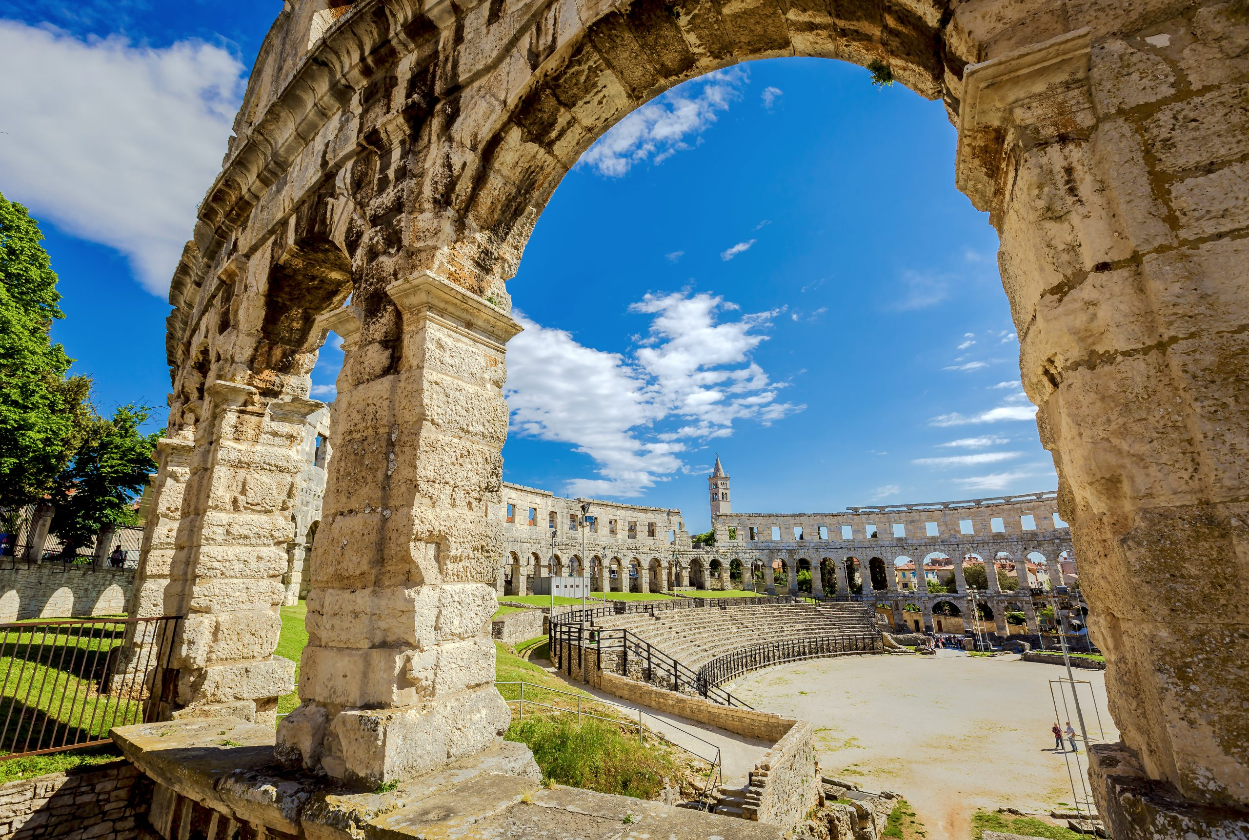 Explore The Roman Theater On Your Istria Day Tour From Zagreb