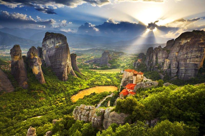 Explore The Unesco World Heritage Meteora