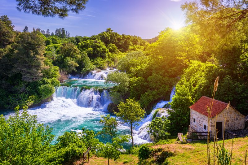 Gorgeous Views During The Krka National Park And Sibenik Day Tour From Split