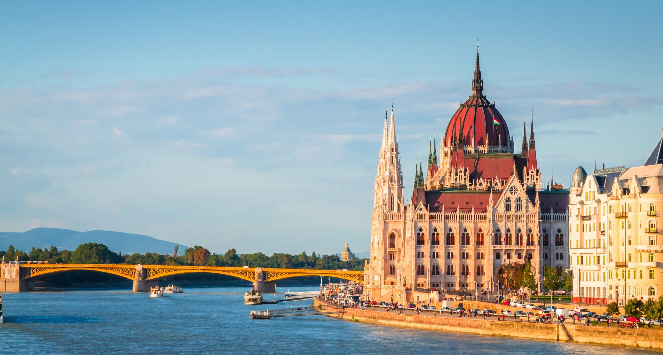 Stunning Views On The Hungarian Parliament During The 2 Day Budapest Tour From Zagreb