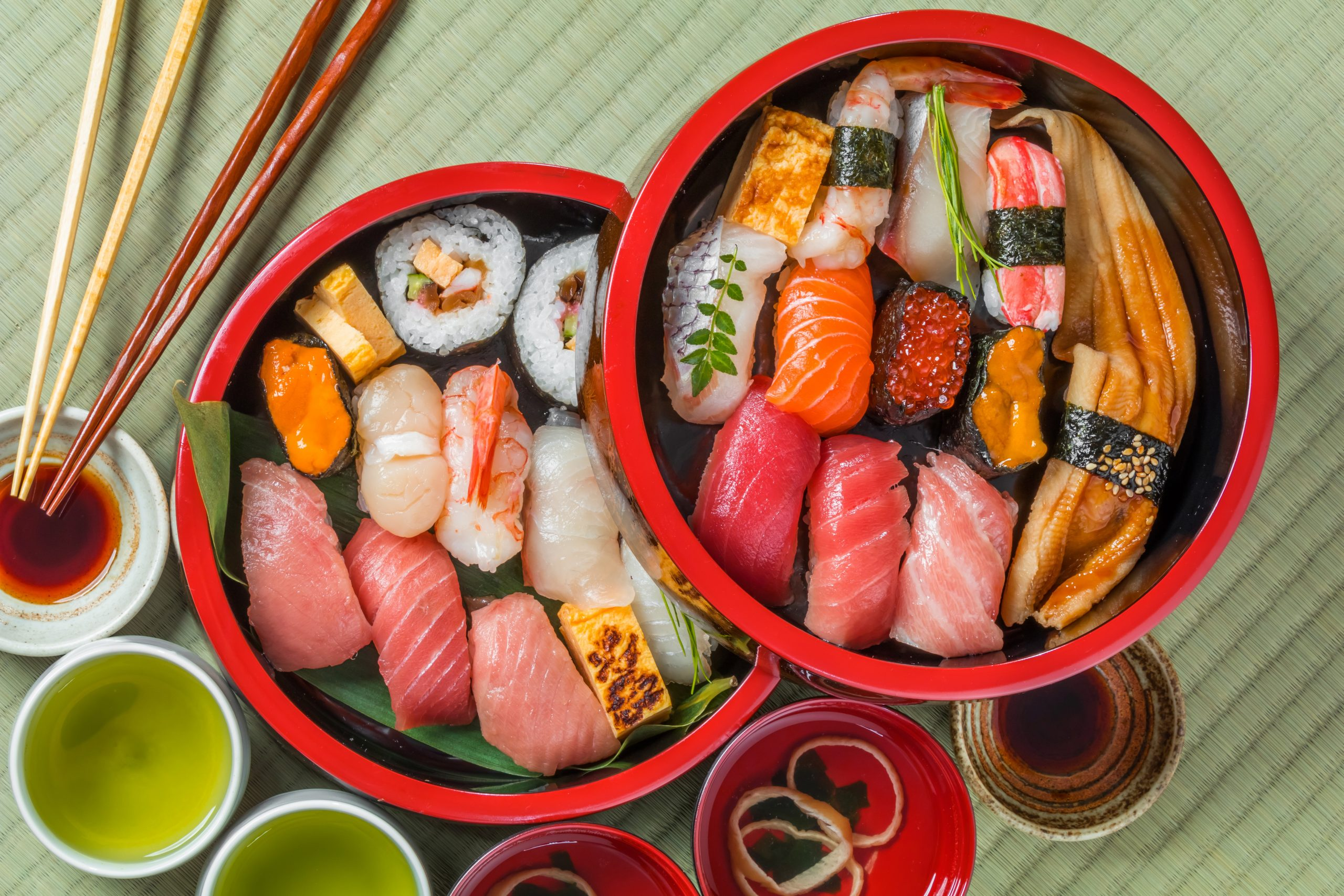 Learn How To Make Traditional Sushi On Your Tokyo Market And Cooking Experience