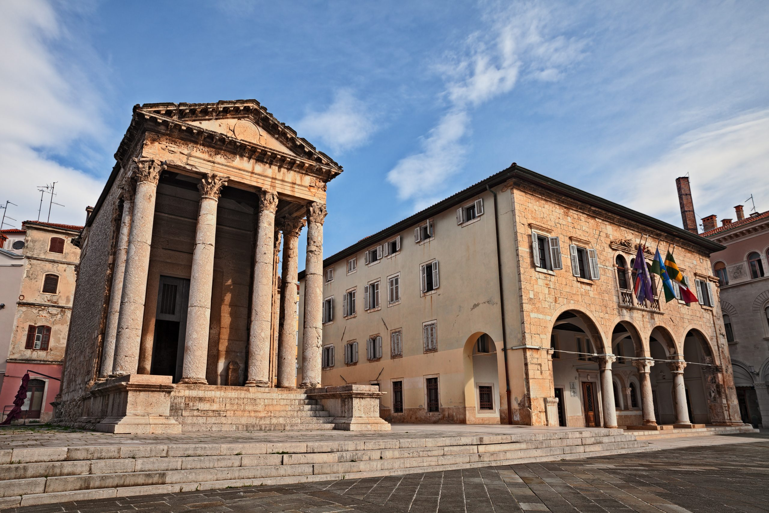 Learn More About Augustus Temple In Pula During Your Istria Day Tour From Zagreb
