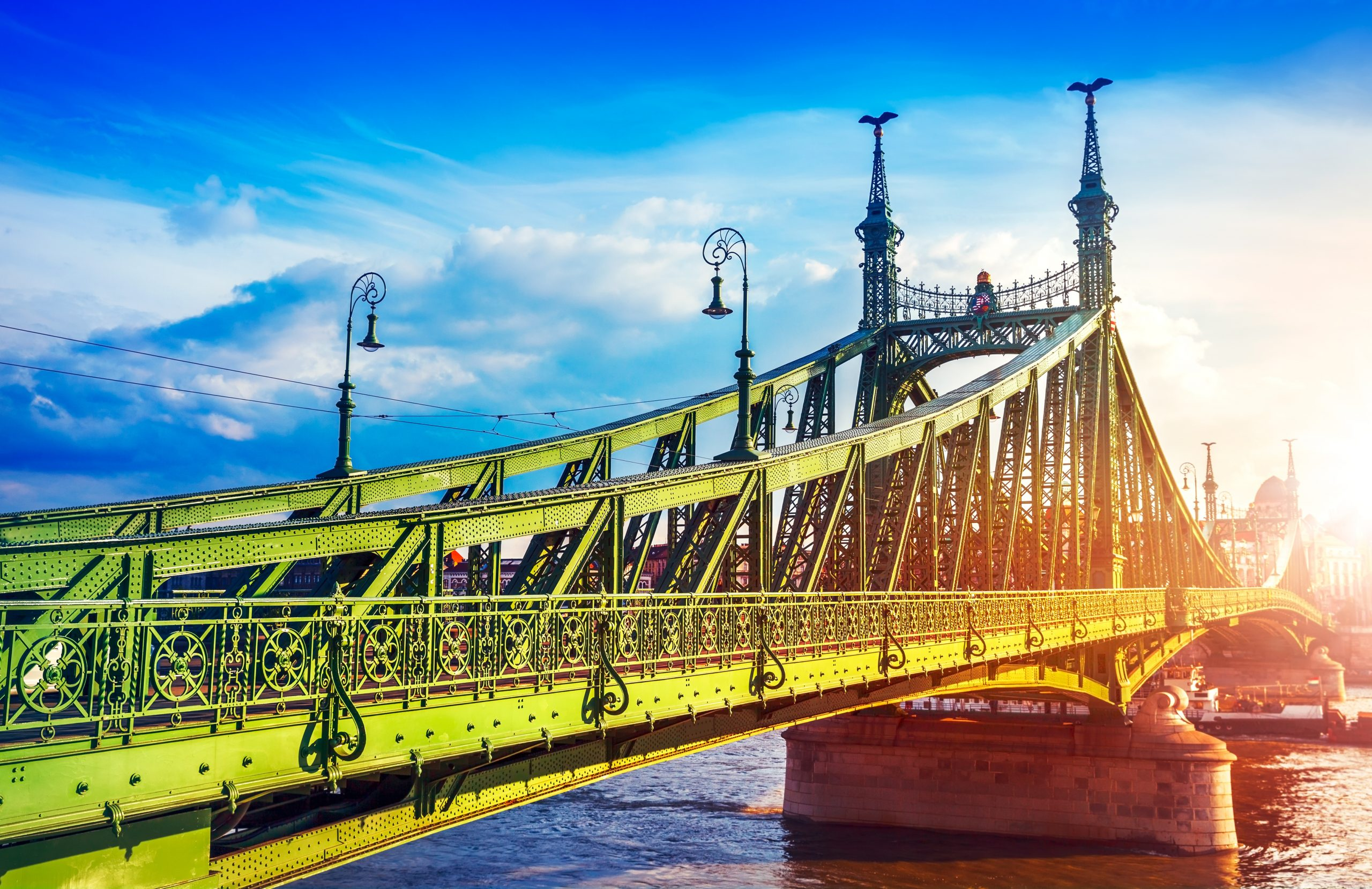 Visit The Liberty Bridge On Your 2 Day Budapest Tour From Zagreb