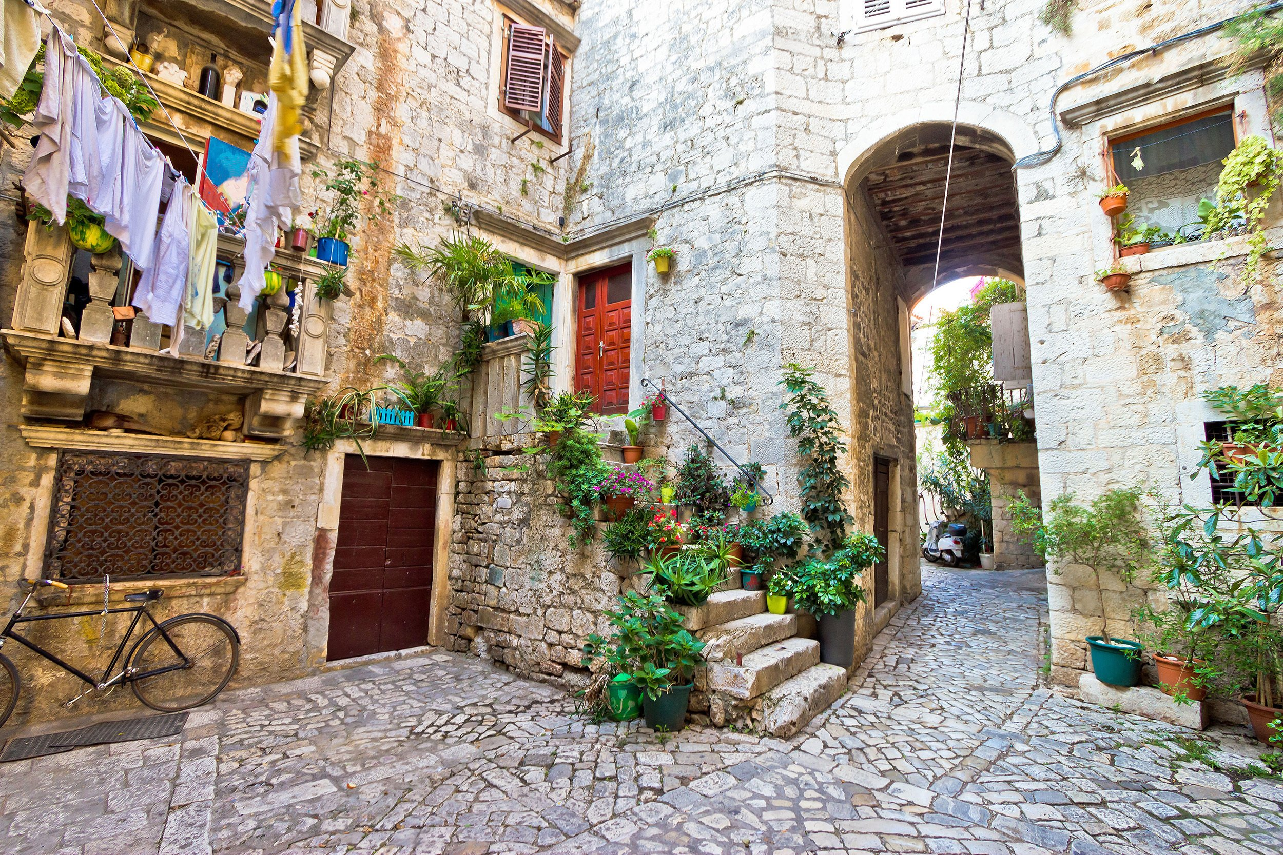 Wander Through The Narrow Streets Of The Unesco World Heritage City During The Klis Fortress And Trogir Day Tour From Spli