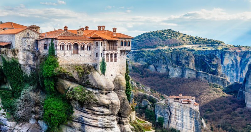 See All The Monasteries Such As The Varlaam Monastery On Your Meteora Half Day Tour From Kalampaka Train Station (1)