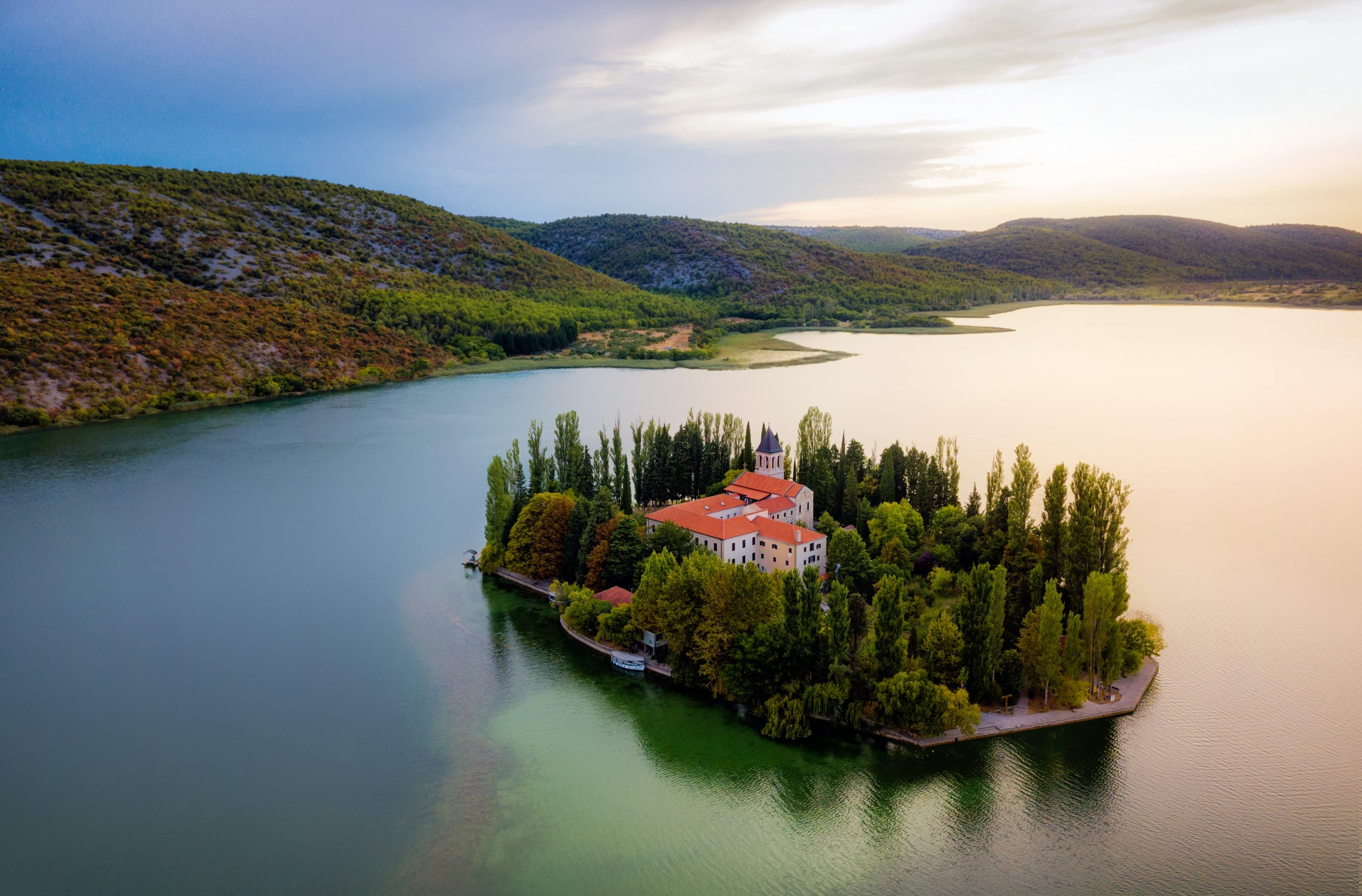 See The Visovac During The Krka National Park And Sibenik Day Tour From Split