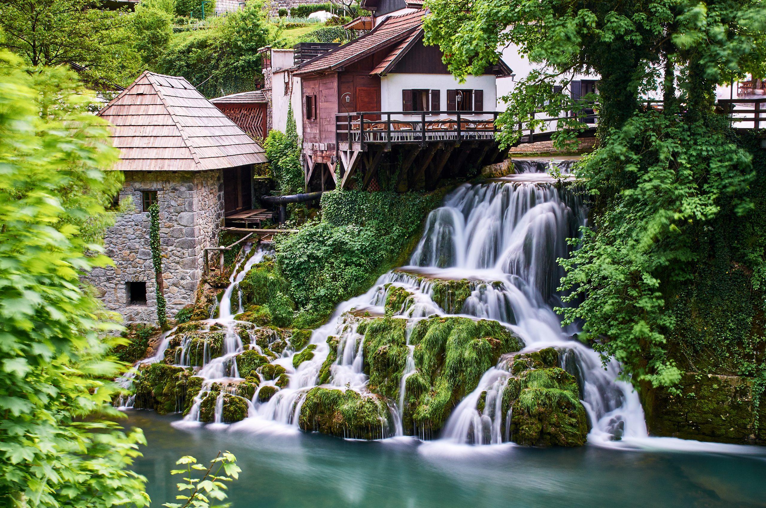 Stop At Rastoke Village On The Plitvice National Park Tour