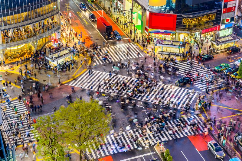 Stop At The Famous Shibuya Crossing On Your 10 Day Ultimate Japan Package Tour_44