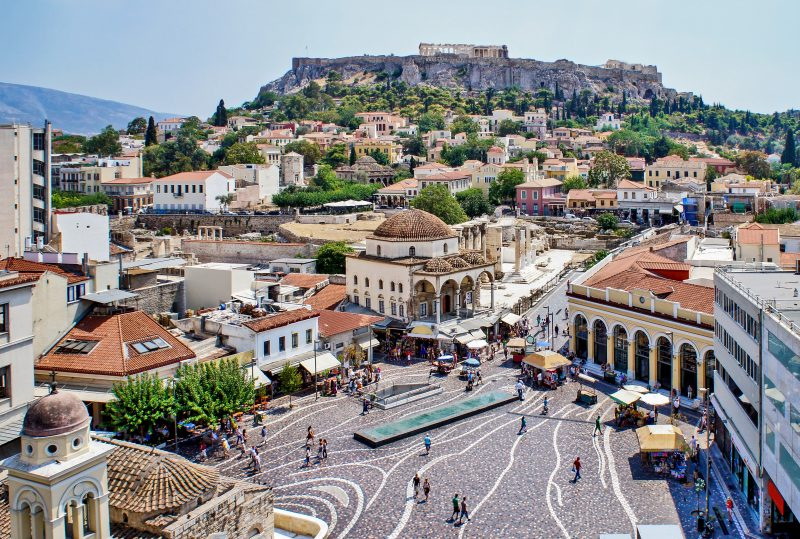 Stop By The Monastiraki Square On The Insider Athens City Tour